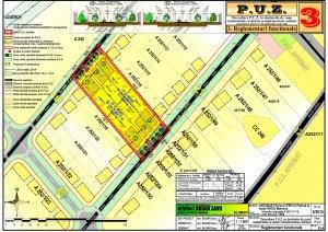 Dezvoltare P.U.Z. cu destinația de zonă rezidențială cu dotări complementare admise